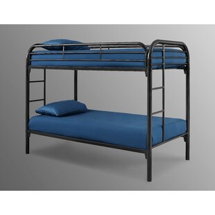 Decatur Black Twin Over Twin Loft Bed by Harriet Bee Savings