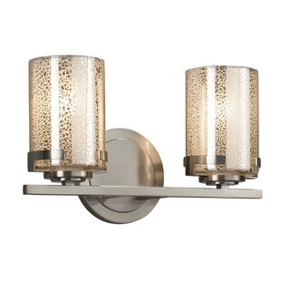 Brayden Studio Luzerne 2-Light LED Vanity Light