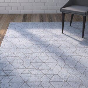 Mcdowell Blue Area Rug