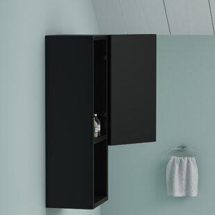 Reviews Brisson 8.7 x 23.6 Surface Mount Medicine Cabinet ByWade Logan