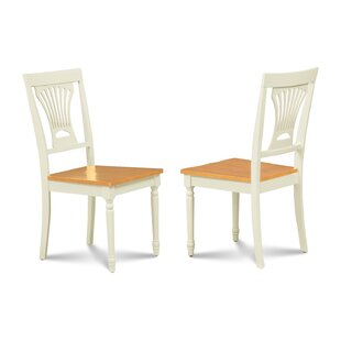 Highland Dunes Belmoor Wooden Dining Chair (Set of 2)
