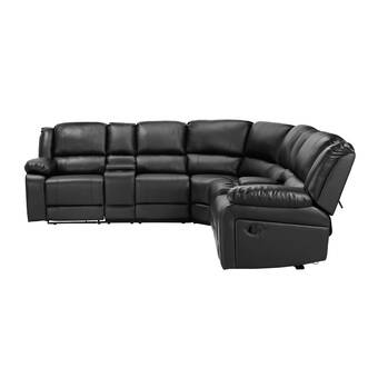 Latitude Run Dobrowolski 94 5 Symmetrical Reclining Corner Sectional Wayfair