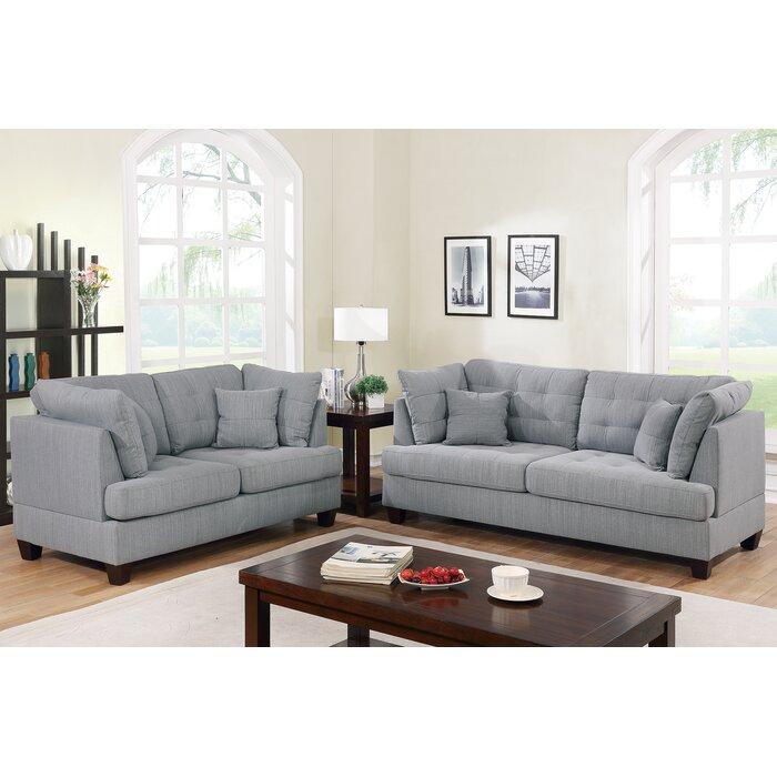 Tarakan 2 Piece Living Room Set