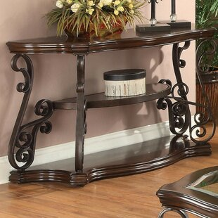 Gravitt Traditional Solid Console Table