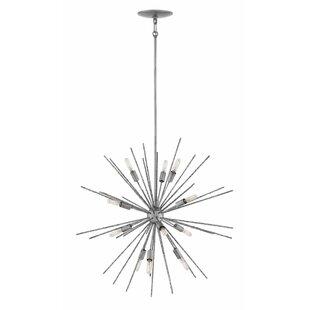 Hinkley Lighting Tryst 12-Light Sputnik Chandelier
