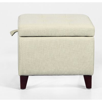 Ivy Bronx Kays 17 7 Tufted Square Storage Ottoman Ivy Bronx Upholstery Color Rice White From Wayfair North America Daily Mail
