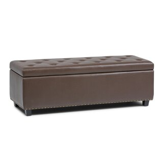 Simpli Home Hamilton Large Storage Bench