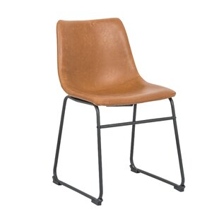 Wrought Studio Cladeus Vintage Upholstered Dining Chair (Set of 2)