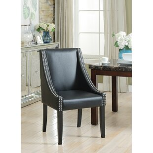 Downend Swoop Arm Upholstered Dining Chair (Set of 2) DarHome Co
