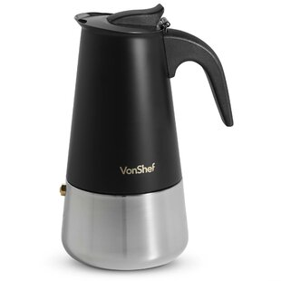 6-Cup Stainless Steel Stove Top Coffee Percolator