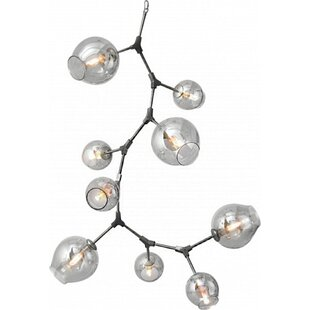 Brayden Studio Lemaster 9-Light Sputnik Chandelier