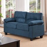 Girardeau 56 Pillow Top Arms Loveseat by Red Barrel Studio®