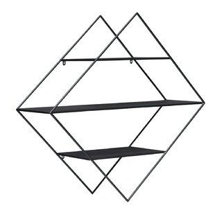 Valliere Metal Triangle Wall Shelf by Latitude Run