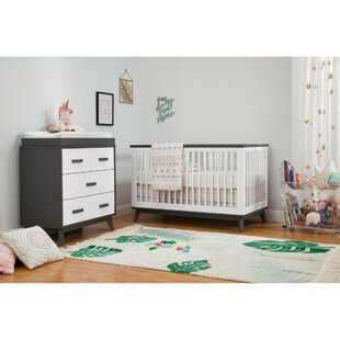 Great Price Scoot 3-in-1 Convertible 2 Piece Crib Set Bybabyletto