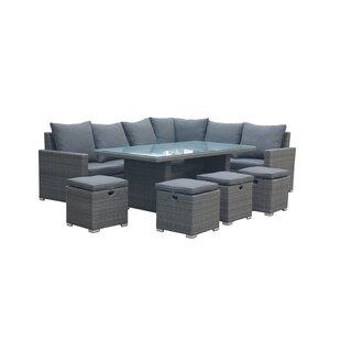 Kaylen 10 Seater Rattan Sofa Set Image