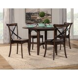 Santillan Solid Wood Dining Table by Gracie Oaks