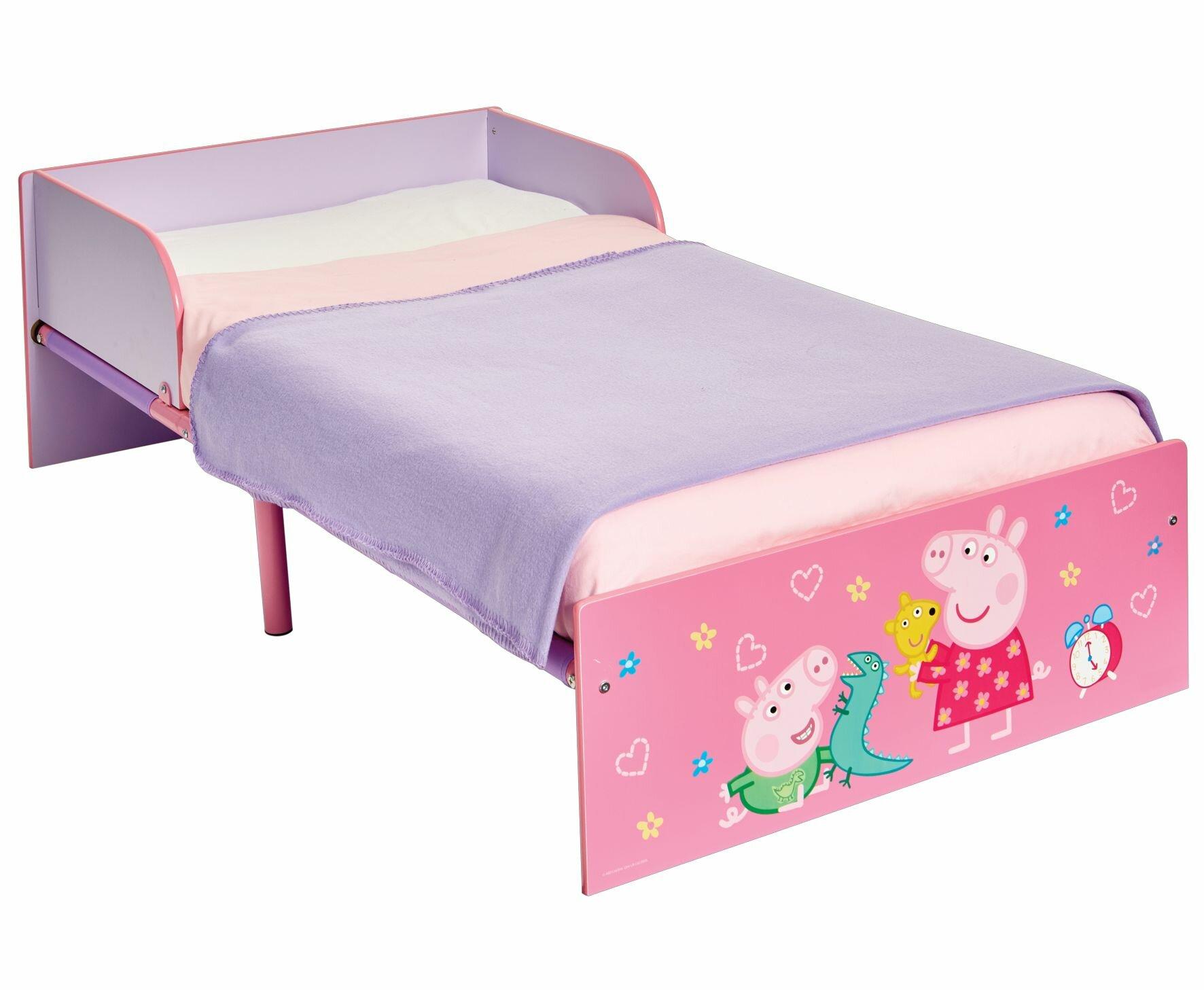 designer fashion 6d7c0 becd8 Peppa Pig Kids Toddler Bed