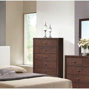 Ebern Designs Mccree 5 Drawer chest