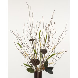 Great Price Bouquet Natural Centerpiece Birch Branches By August Grove