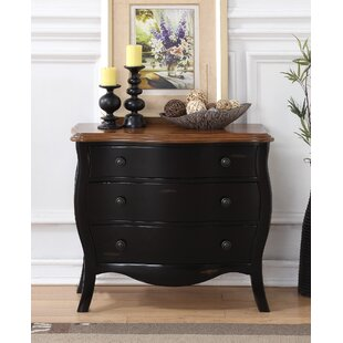 Deniece 3 Drawer Accent Chest by Darby Home Co