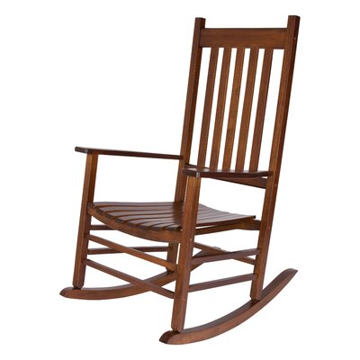 Emjay Rocking Chair Finish: Oak by Andover Mills