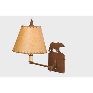 Steel Partners Bear Swing Arm Lamp