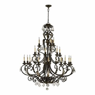 Ancram 21-Light Chandelier..