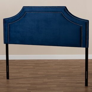 Read Reviews Cornett Upholstered Panel Headboard by Rosdorf Park