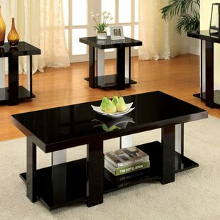 Great choice Puau Contemporary 3 Piece Coffee Table Set (Set of 3) By Latitude Run