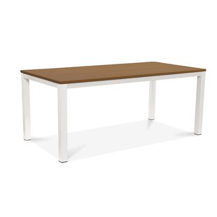 17 Stories Violet Solid Wood Dining Table