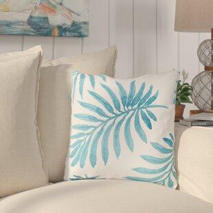 Morganton Palm Throw Pillow