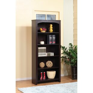 Darby Home Co Barwell 5-Tier Standard Bookcase