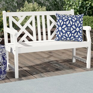 Hatten Wood Garden Bench by Sol 72 Outdoor