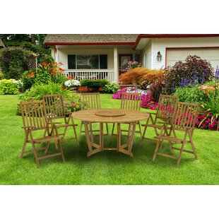 Gunnar 6 Seater Dining Set By Sol 72 Outdoor