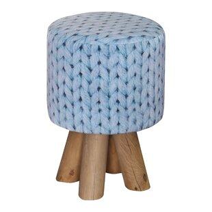 Wool Stool By Happy Barok