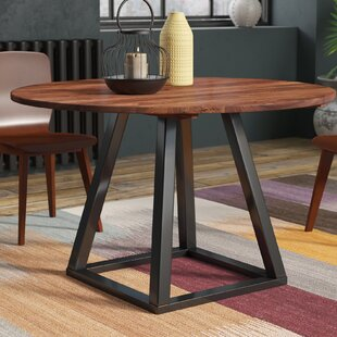 Price comparison Beckville Round Dining Table By Brayden Studio