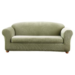 Sure Fit Stretch Madison Box Cushion Sofa Slipcover