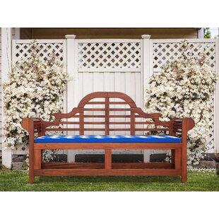 Trumann Wooden Bench by Lynton Garden