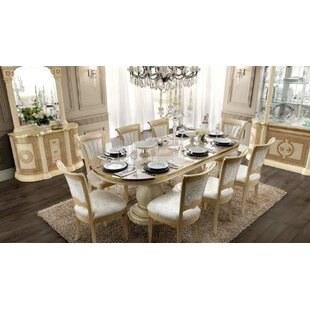Chalgrave Extendable Solid Wood Dining Table