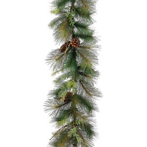 Mixed Pine with Pine Cones Artificial Christmas Garland