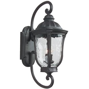 Find Oakhill 3-Light Outdoor Wall Lantern By Charlton Home