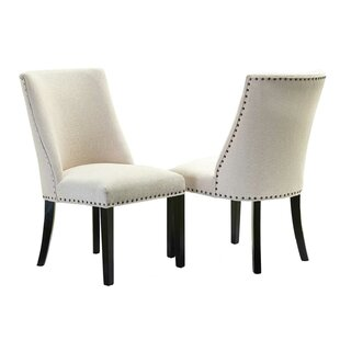 Red Barrel Studio Martinelli Upholstered Dining Chair (Set of 2)