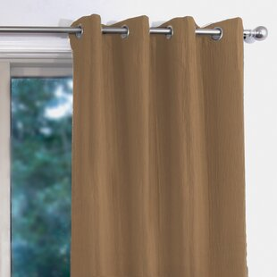 Crainville Solid Room Darkening Grommet Curtain Panels (Set of 2) by Alcott Hill
