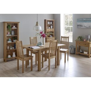 Rafeala Extendable Dining Set With 4 Chairs By August Grove