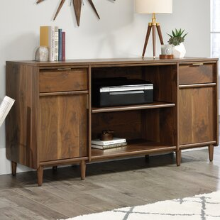 Comparison Cutrer Credenza Desk By Mercury Row