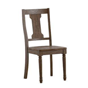 Petrucci Splat Back Solid Wood Dining Chair (Set Of 2) 2019 Coupon