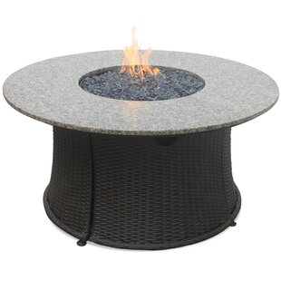 Stainless Steel Propane Fire Pit Table