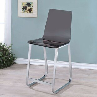 Constantino 23.75 Bar Stool (Set of 2) by Orren Ellis