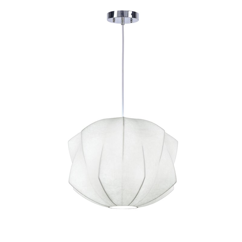 Leggett 1 Light Single Geometric Pendant Reviews Allmodern