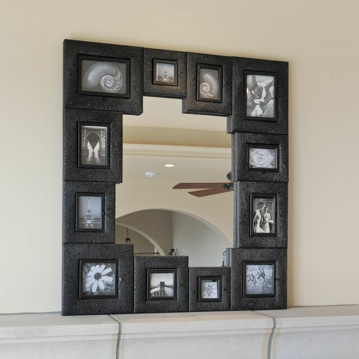 Zoomie Kids Portillo Picture Frame Wall Mirror Wayfair